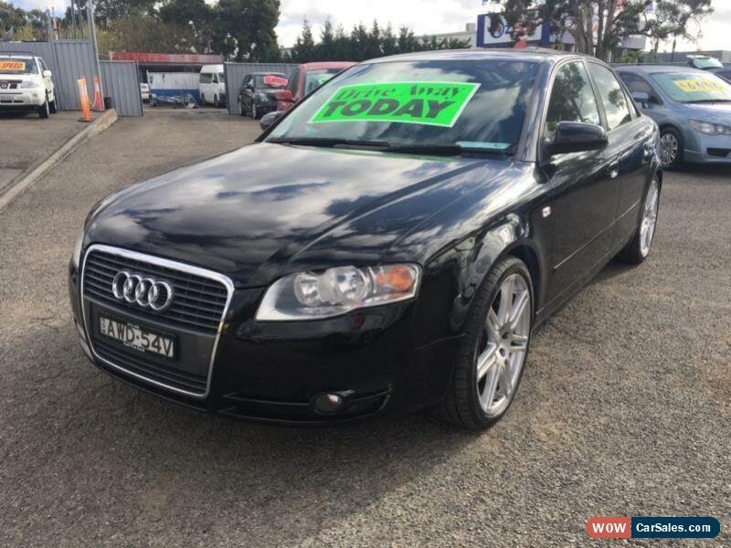 Audi A For Sale In Australia - 2005 audi a4