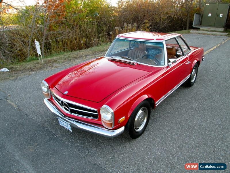 Mercedes Sl500 For Sale >> 1971 Mercedes Benz Sl Class For Sale In Canada