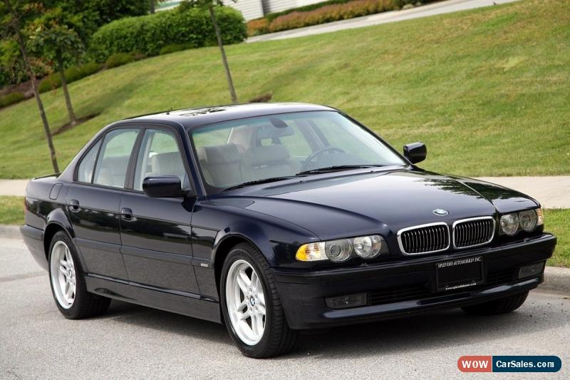 2001 7 series bmw for sale