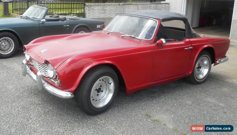 1962 Triumph Tr4 For Sale In Canada