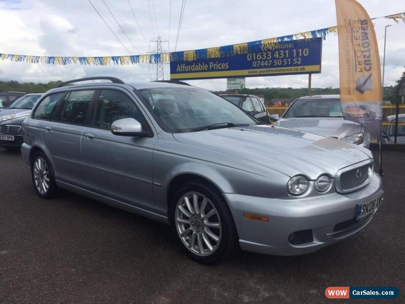 2008 jaguar x type for sale in united kingdom. Black Bedroom Furniture Sets. Home Design Ideas