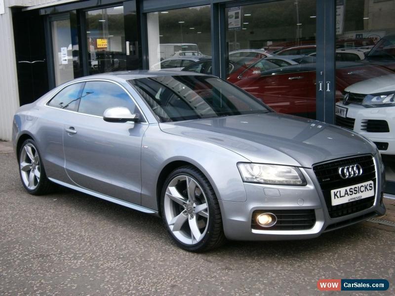 2010 audi a5 for sale in united kingdom - Audi a5 coupe 3 0 tdi quattro s line special edition ...