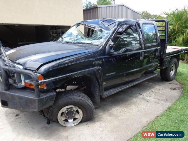 ... Classic 2005 FORD F250 XLT 4 DOOR CREW CAB 7.3 LITRE DIESEL STAT WRITEOFF OFFROAD FARM & Ford F250 for Sale in Australia