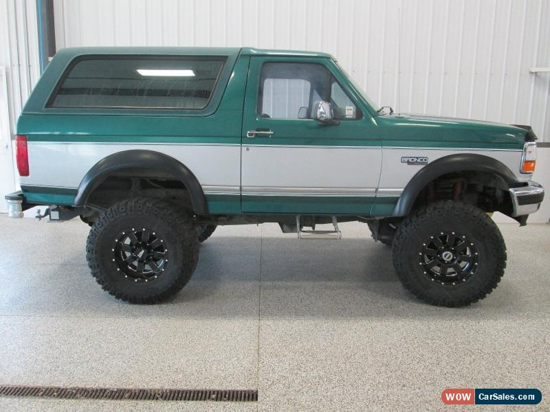 1996 Ford Bronco for Sale in Canada