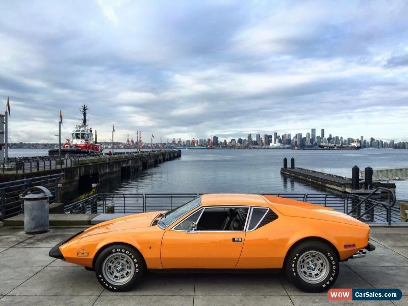 Pantera For Sale >> 1973 De Tomaso Pantera For Sale In Canada