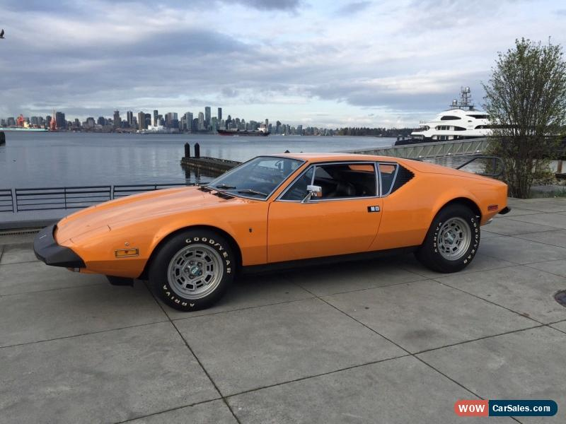 Pantera For Sale >> 1973 De Tomaso Pantera