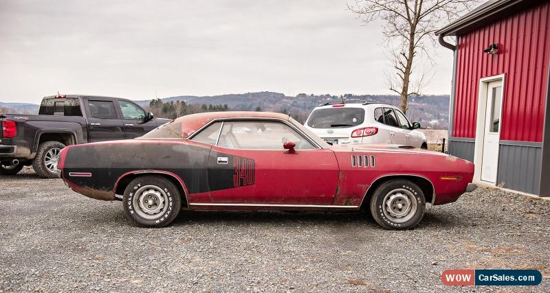Classic 1971 Plymouth Barracuda Billboard Cuda For Sale