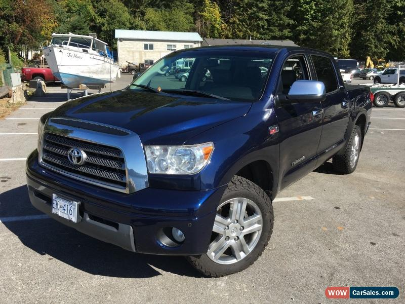 Classic 2008 Toyota Tundra Crewmax For Sale