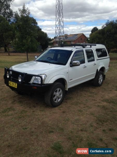 Holden rodeo lt 4x4 2006