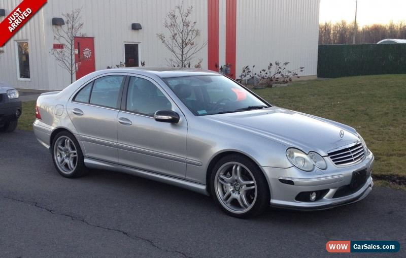 Captivating Classic 2006 Mercedes Benz C Class AMG For Sale