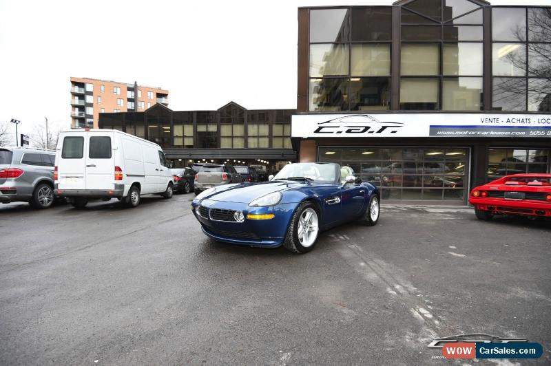2001 Bmw Z8 For Sale In Canada