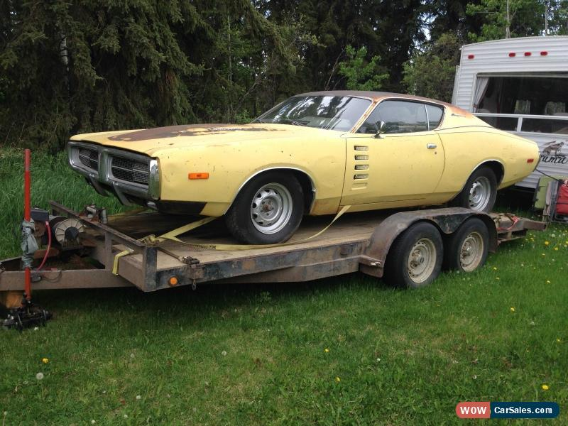 1972 Dodge Charger For Sale In Canada