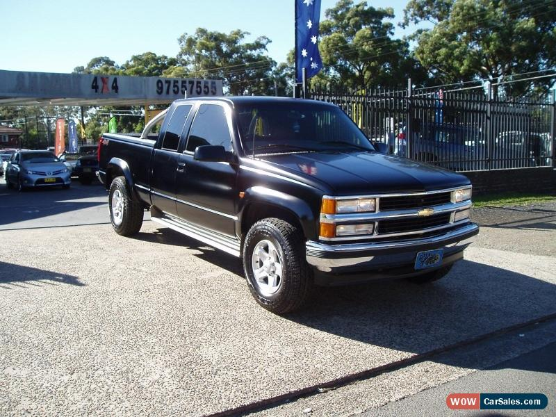 Classic 1999 CHEVROLET SILVERADO 1500 4X4 AUTO V8 EXTRA CAB 3 DOOR LONG BOX  UTE For