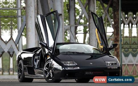 Rare 2001 Lamborghini Diablo Vt 6 0 Project Incl Bmw 750il