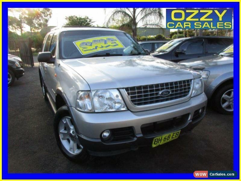 2004 Ford Explorer For Sale >> Ford Explorer For Sale In Australia