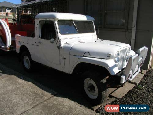 1957 Willys Jeep True White Utility