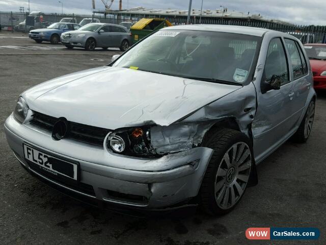2002 Volkswagen Golf for Sale in United Kingdom