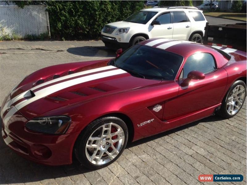 Dodge Viper Used >> 2008 Dodge Viper for Sale in Canada