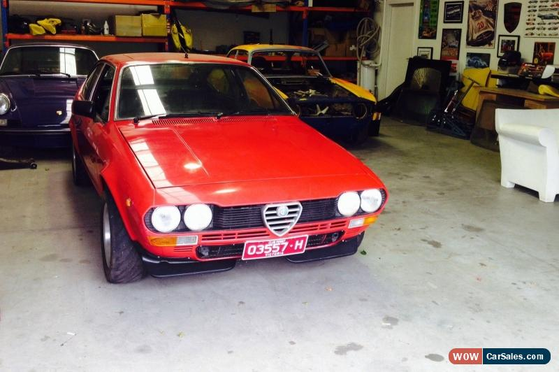 Alfa romeo alfetta gtv road club sprint car for sale in australia - Alfa romeo coupe for sale ...