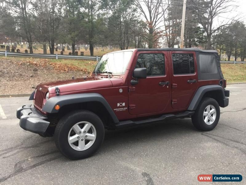 Charming Classic Jeep: Wrangler Unlimited X Sport Utility 4 Door For Sale