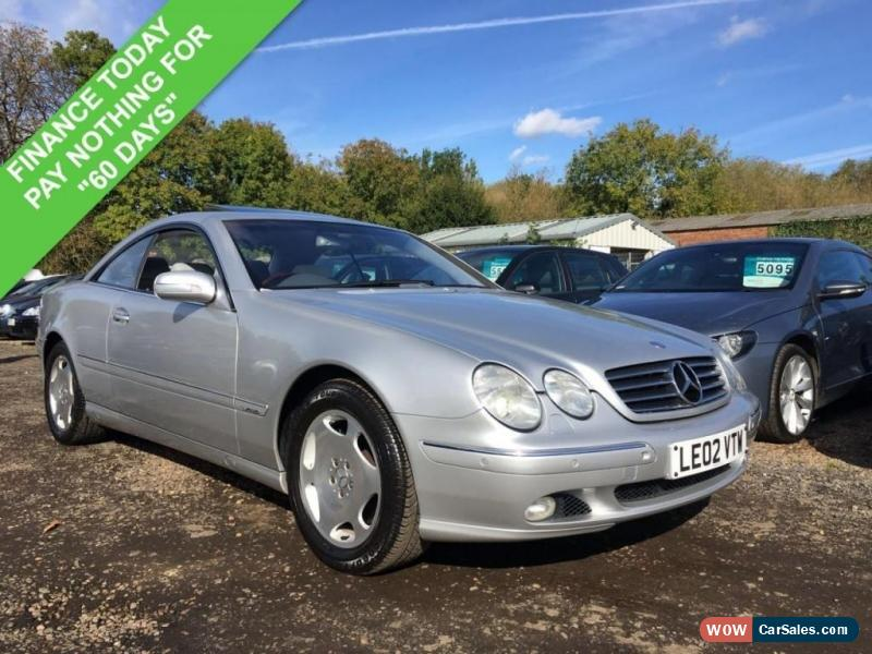 2002 mercedes benz cl 600 for sale in united kingdom for Mercedes benz cl600 for sale