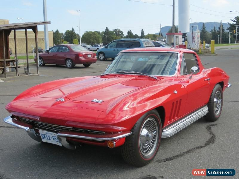 1966 chevrolet corvette for sale in canada. Black Bedroom Furniture Sets. Home Design Ideas