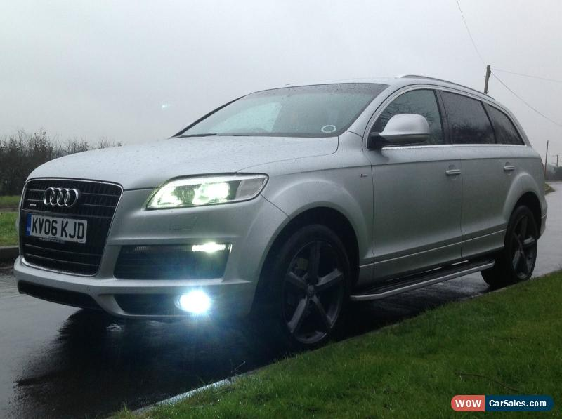 2006 audi q7 s line quattro tdi for sale in united kingdom. Black Bedroom Furniture Sets. Home Design Ideas