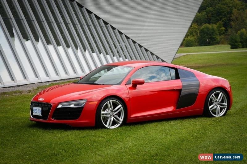 Audi R For Sale In Canada - Audi r8 v8