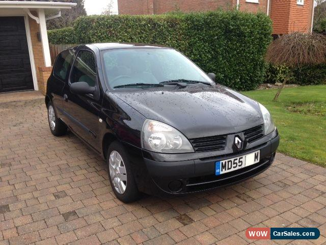 2006 renault clio for sale in united kingdom. Black Bedroom Furniture Sets. Home Design Ideas
