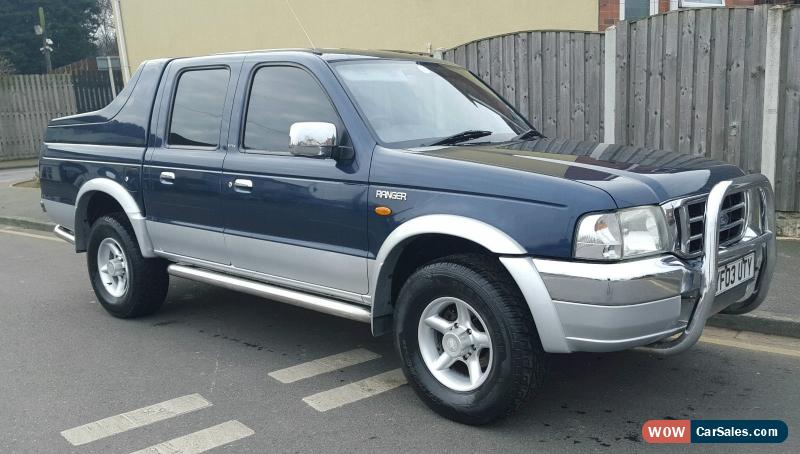 2003 ford ranger xlt double cab 4x4 rear cover pickup p ex possible for sale in united kingdom. Black Bedroom Furniture Sets. Home Design Ideas