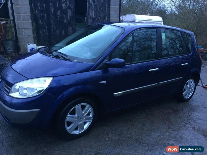 2004 renault scenic for sale in united kingdom. Black Bedroom Furniture Sets. Home Design Ideas