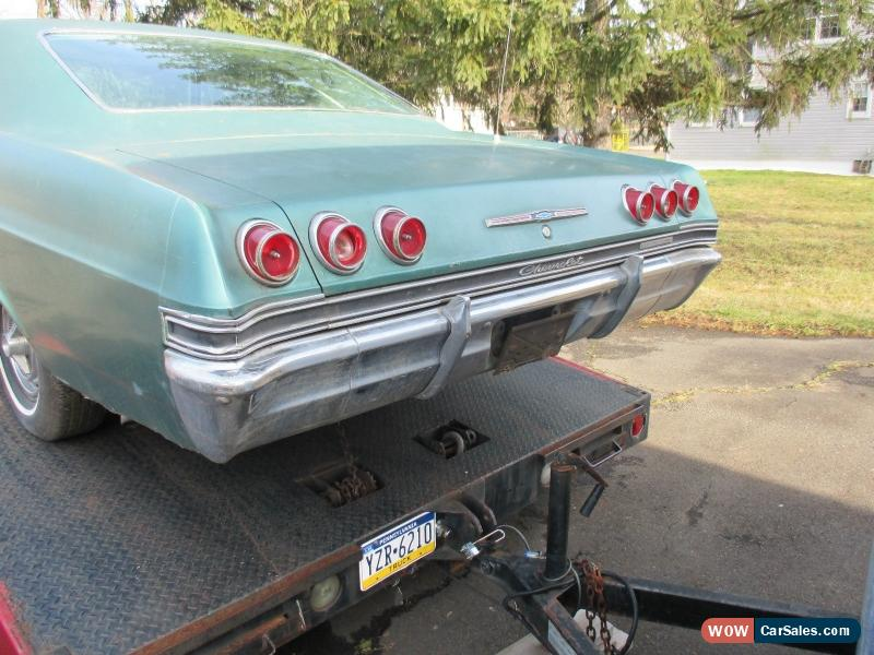 1965 Chevrolet Impala 2 door hardtop coupe Super Sport