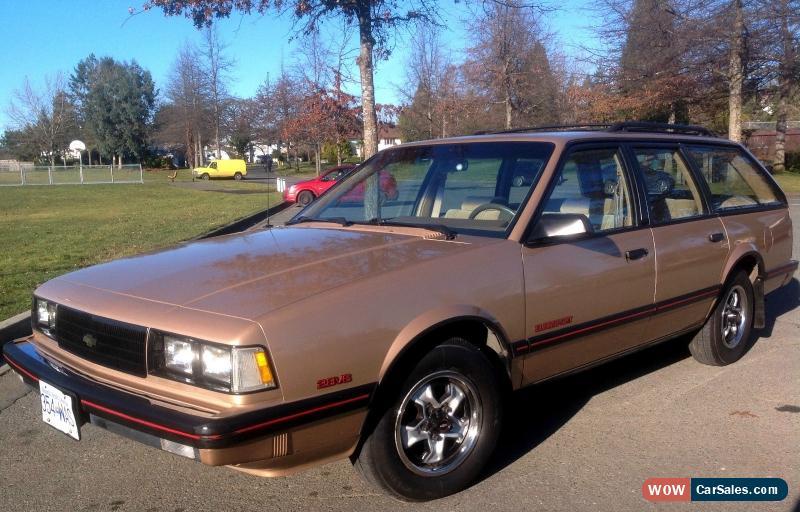 Clic 1986 Chevrolet Celebrity Eurosport Station Wagon For