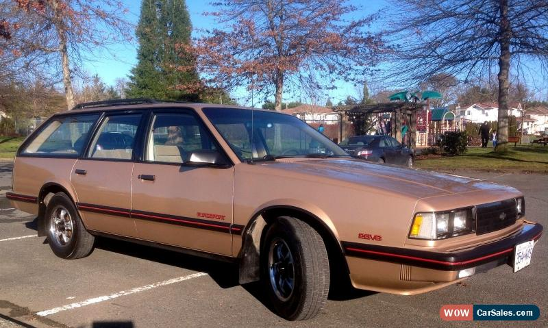1986 Chevy Celebrity station wagon V-6 for sale: photos ...