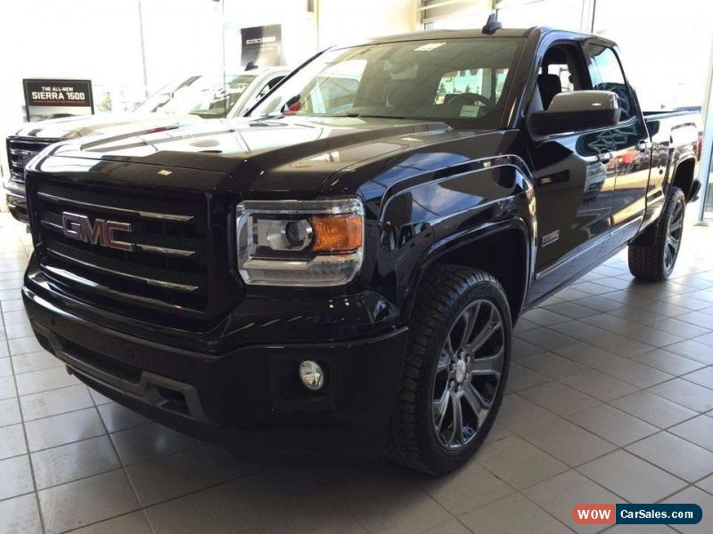 2015 gmc sierra 1500 for sale in canada. Black Bedroom Furniture Sets. Home Design Ideas