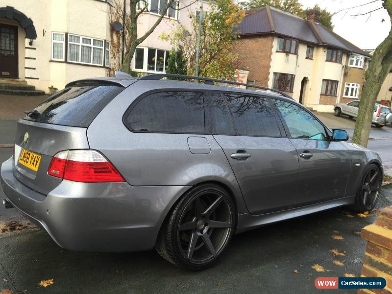 2008 bmw 520d m sport touring auto for sale in united kingdom. Black Bedroom Furniture Sets. Home Design Ideas