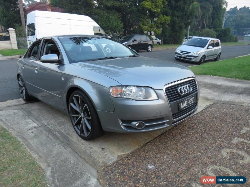 Audi A For Sale In Australia - Audi a4 2005 for sale