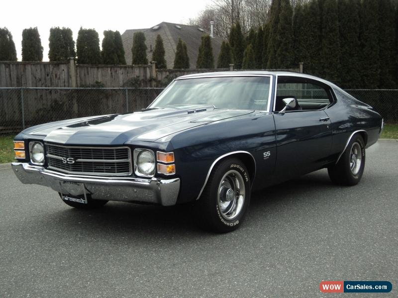 Chevy chevelle ss 1971