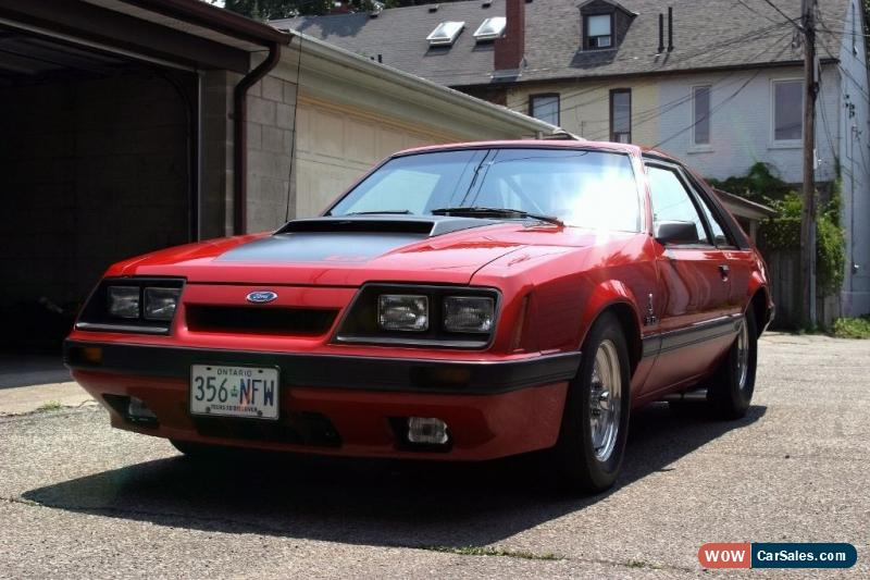 1986 Ford Mustang GT COBRA