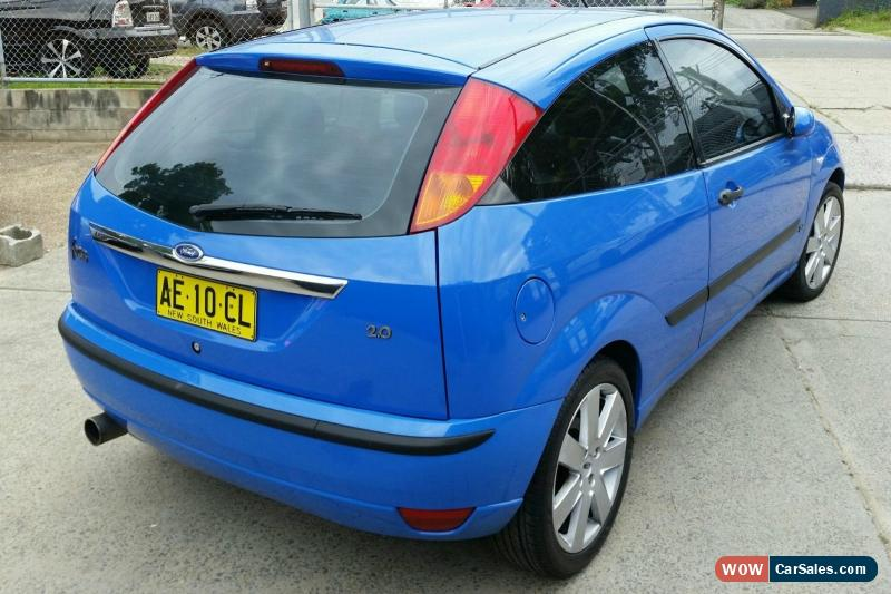 Ford focus zetec 2002 3d hatchback manual 2l multi point f inj 5