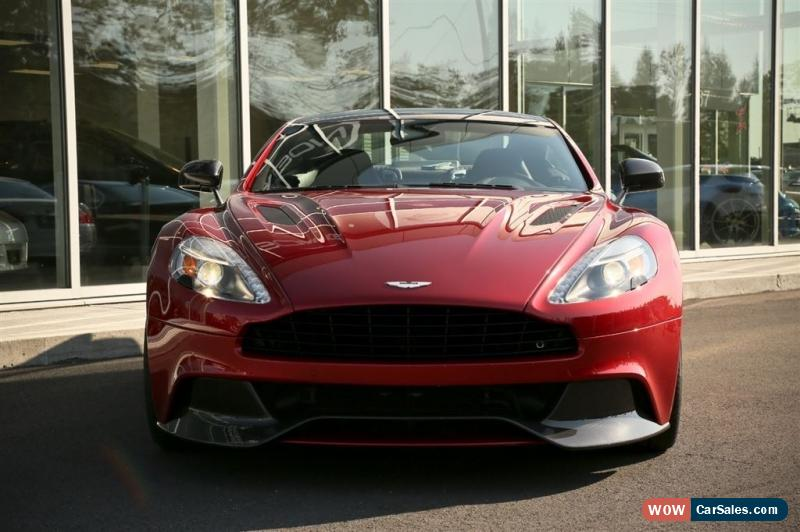 classic aston martin vanquish vanquish for sale. Black Bedroom Furniture Sets. Home Design Ideas