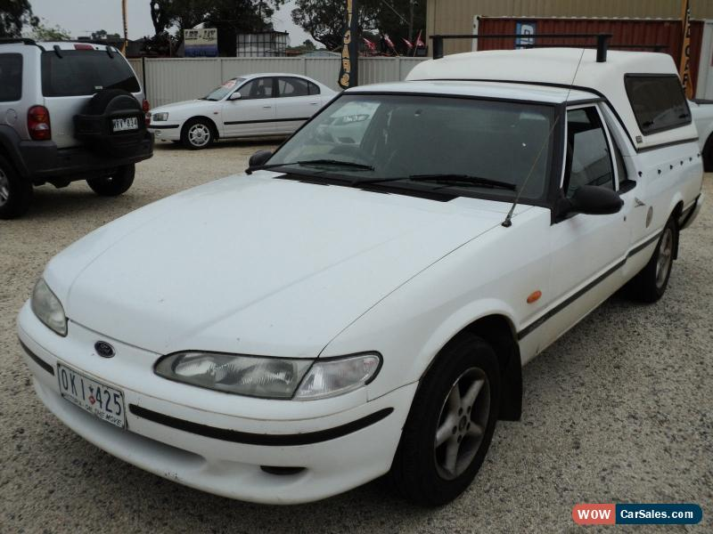 ... Classic Ford Falcon 1997 GLi 1 tonne Tradesman canopy as traded no reg no rwc no & Ford Ford Falcon 1997 GLi Longreach Tradesman for Sale in Australia
