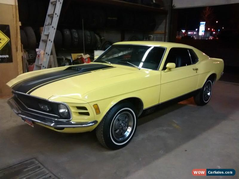 1970 Ford Mustang Mach 1 California Desert Car For Sale: 1970 Ford Mustang For Sale In Canada