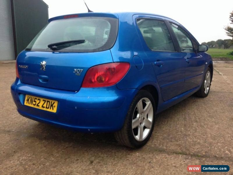 2002 peugeot 307 for sale in united kingdom. Black Bedroom Furniture Sets. Home Design Ideas
