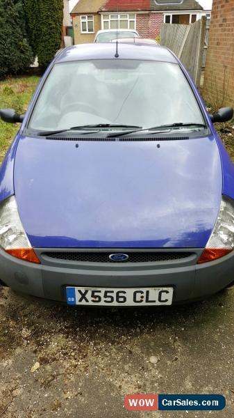 Classic  Ford Ka Now Mauve Purple For Sale