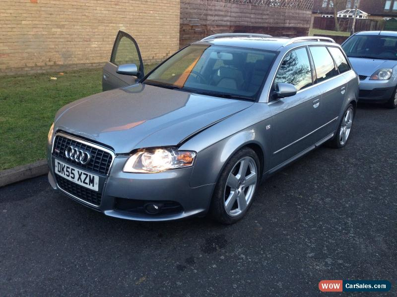 2006 audi a4 avant s line tdi auto for sale in united kingdom. Black Bedroom Furniture Sets. Home Design Ideas