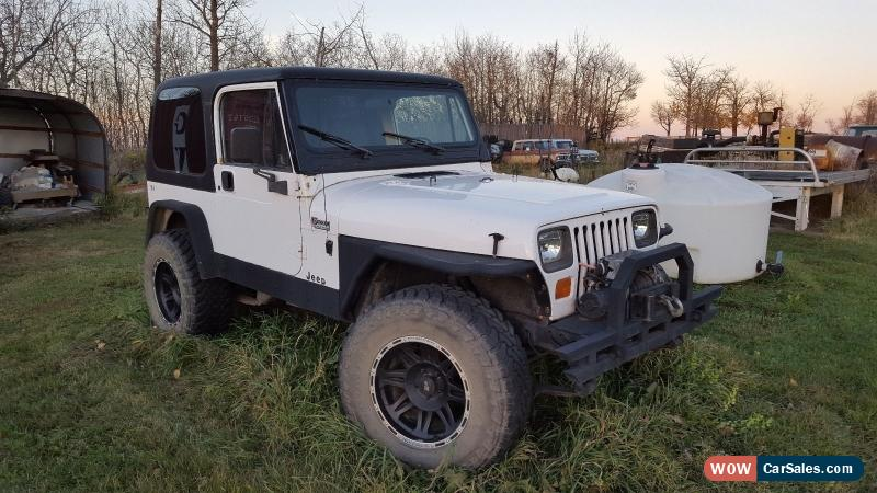 Classic Jeeps For Sale >> 1995 Jeep Wrangler For Sale In Canada