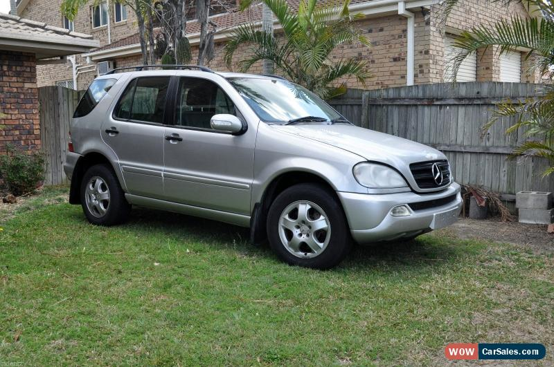 Classic 2003 Mercedes Benz ML 270 CDI 7 Seater Wagon For Sale