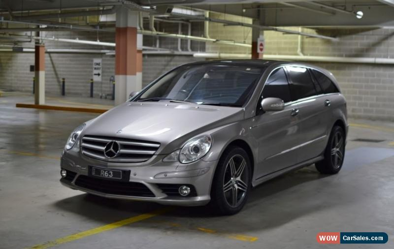 Mercedes benz r63 amg for sale