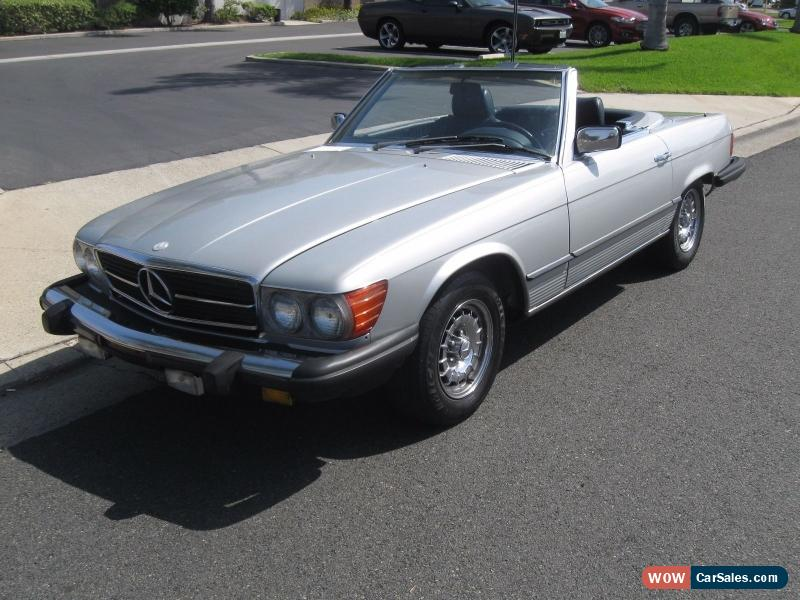 1985 mercedes benz sl class for sale in united states for Mercedes benz v class for sale